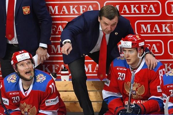 Хоккеисты сборной России померятся силами с канадцами на московском этапе Евротура