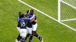 Франция – Австралия, отчет о матче