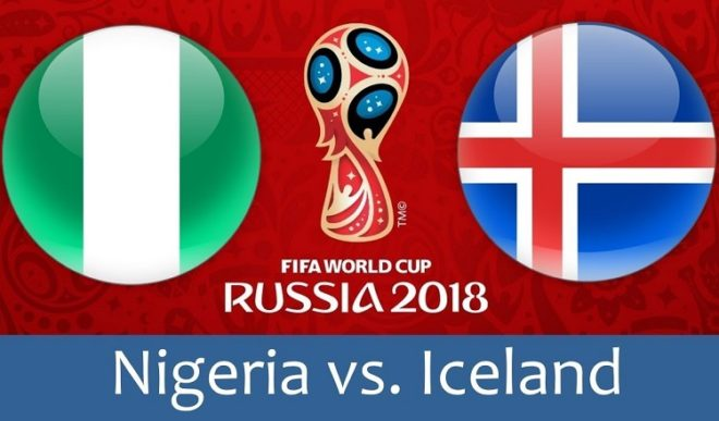 Нигерия – Исландия